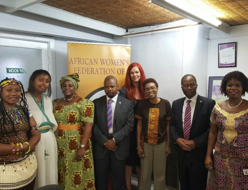 South African Ambassador's visit to AWFOSA